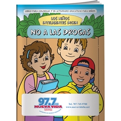 Smart Kids Say NO to Drugs! Coloring Book (Spanish) Smart Kids Say NO to Drugs! Coloring Book, in Spanish, BetterLifeLine, BetterLife, Education, Educational, information, Informational, Wellness, Guide, Brochure, Paper, Low-cost, Low-Price, Cheap, Instruction, Instructional, Booklet, Small, Reference, Interactive, Learn, Learning, Read, Reading, Health, Well-Being, Living, Awareness, ColoringBook, ActivityBook, Activity, Crayon, Maze, Word, Search, Scramble, Entertain, Educate, Activities, Schools, Lessons, Kid, Child, Children, Story, Storyline, Stories, Drugs, Alcohol, Smoke, Tobacco, Smoking, Cigarettes, Lungs, Cancer, Drinking, Drink, Booze, Liquor, Beer, Say No, DARE, SADD, MADD, Drunk, DUI, DWI, AA, Abuse, Addiction, Addict, Red Ribbon, Rehab, Rehabilitation, Police, Withdrawal,