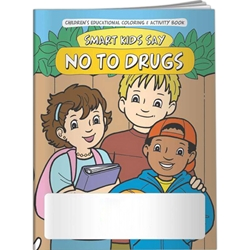Smart Kids Say NO to Drugs! Coloring Book Smart Kids Say NO to Drugs! Coloring Book, BetterLifeLine, Red Ribbon Week, Education, Educational, information, Informational, Brochure, Paper, Low-cost, Low-Price, Cheap, Instruction, Instructional, Booklet, Small, Reference, Interactive, Learn, Learning, Read, Reading, Health, Well-Being, Living, Awareness, ColoringBook, ActivityBook, Activity, Crayon, Maze, Word, Search, Scramble, Entertain, Educate, Activities, Schools, Lessons, Kid, Child, Children, Story, Storyline, Stories, Drugs, Alcohol, Smoke, Tobacco, Smoking, Cigarettes, Lungs, Cancer, Drinking, Drink, Booze, Liquor, Beer, Say No, DARE, SADD, MADD, Drunk, DUI, DWI, AA, Abuse, Addiction, Addict, Dependence, Rehab, Imprinted, Personalized, Promotional, with name on it