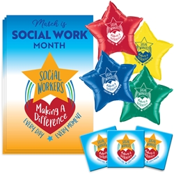 """Social Workers: Making A Difference Every Day, Every Moment"" Decoration Pack   Social Worker, Social Work, Poster, Buttons, Pens, Cups, Celebration Pack, Employee Appreciation Day, Employee Recognition theme Celebration Pack"