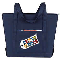 Solid Boat Bag All Purpose, Solid, Boat, Polyester, Promotional Events, Trade Show Bags, Health Fair, Imprinted, Tote, Reusable, Recognition, Travel
