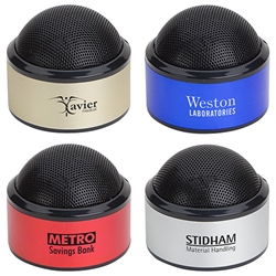Sound Dome Bluetooth Speaker Bluetooth Mini Speakers,  Bluetooth desk speaker, blue tooth mini speaker, imprinted speakers, bluetooth speaker customized, Care Promotions,