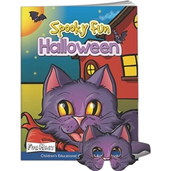 Spooky Fun Halloween Fun Masks Spooky Fun Halloween Fun Masks, BetterLifeLine, BetterLife, Education, Educational, information, Informational, Wellness, Guide, Brochure, Paper, Low-cost, Low-Price, Cheap, Instruction, Instructional, Booklet, Small, Reference, Interactive, Learn, Learning, Read, Reading, Health, Well-Being, Living, Awareness, ColoringBook, ActivityBook, Activity, Crayon, Maze, Word, Search, Scramble, Entertain, Educate, Activities, Schools, Lessons, Kid, Child, Children, Story, Storyline, Stories, Fire, Safety, Burn, Fireman, Fighter, Department, Smoke, Danger, Forest, Station, Protect, Protection, Emergency, Firefighter, First Aid, Mask, Halloween, Trick or Treat, Imprinted, Personalized, Promotional, with name on it, Giveaway,