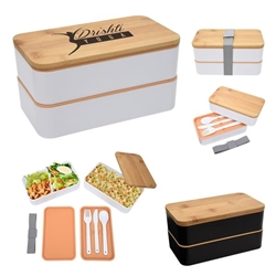 Stackable Bento Lunch Set Lunch Dish, Lunch Plate, Lunch Set, Lunch Box, Imprinted, Personalized, Promotional, with name on it, Gift Idea, Giveaway, novelty pen, promotional pen, fidget spinner pen