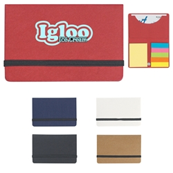 Sticky Notes And Flags In Business Card Case Sticky Notes And Flags In Business Card Case, Sticky Notes, and, Flags, in, Business, Card, Case, Imprinted, Personalized, Promotional, with name on it, giveaway,