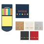 Sticky Notes And Flags In Pocket Case Sticky Notes And Flags In Pocket Case, Sticky, Note, and, Flags, in, Pocket, Case, Imprinted, Personalized, Promotional, with name on it, giveaway,