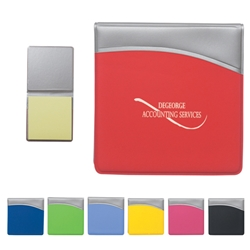 Sticky Notes In Folder Sticky Notes In Folder, Sticky, Notes, in, Folder, Imprinted, Personalized, Promotional, with name on it, giveaway,