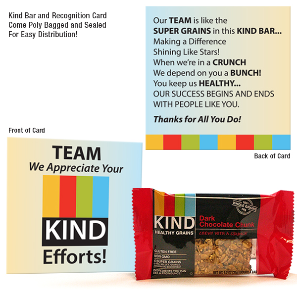 TEAM We Appreciate Your KIND Efforts Employee Appreciation Kit
