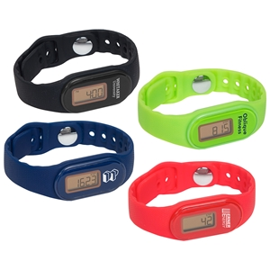 Promotional Fitness Tracker Pedometer Watch | Care Promotions
