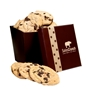 Tapered Cookie Gift Box holiday gifts, holiday food gifts, corporate holiday gifts, gift sets, chocolate gifts, employee appreciation, employee recognition, holiday parties, chocolate chip cookies, cookie gift box