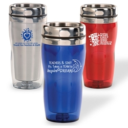 Teacher & School Staff Appreciation Curvy Tumblers    Teacher and School Staff theme, curvy tumbler, tumbler, beverage holder, travel tumbler, drinkware, sporty, promotional products
