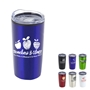 """Teachers & Staff: You Make a Difference In So Many Ways!"" 20 oz. Stainless Steel & Polypropylene Tumbler teachers, teacher, school, staff, theme, 20 oz tumbler, Imprinted Tumblers, Stainless Steel Tumblers, Care Promotions,"