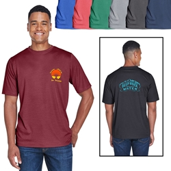 Team 365® Mens Sonic Heather Performance T-Shirt | Care Promotions