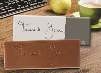 """Thank You"" Chocolate Bar Employee Appreciation, Employee Recognition, Holiday Gifts, Business Gifts, Corporate Gifts, Holiday Parties, chocolate, Appreciation Gifts, Thank You Gifts, food gifts"
