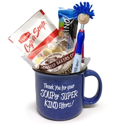 Thank You For Your SOUPer SUPER KIND Efforts! Ceramic Gift Set  Ceramic, Campfire, Mug Set,  Soup Set, SUPER Theme Gift Set, Ice Breaker gift, Recognition gift, Appreciation, Holiday Appreciation, Gift Set, Team, Staff, Gifts, Appreciation, Care, Nurses, Volunteers, Team, Healthcare, Teachers, Staff, Housekeepers, Environmental Services, Incentives, Holiday Gift Ideas,