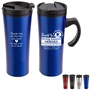 """Thank You Nursing Assistant Heroes 2020...You Always Have Our Backs!...Outback 16 oz. Travel Mug   NA, CNA, Nursing Assistants, Certified, Nursing, Assistants, Appreciation theme, Nurses Recognition Travel Mug, Nursing Appreciation, Travel Mug, Steel Travel Mug, Under $6 Travel Mug, bottle, promotional drinkware, custom vacuum insulated drinkware, employee wellness gifts, fitness promotional items"