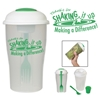 "Thanks For ""Shaking It Up"" & Making A Difference! 3 Piece Salad Shaker Set 3 Piece Salad Shaker Set, 3-piece, Salad, Shaking It Up, Making A Difference, Shaker, Imprinted, Personalized, Promotional, with name on it, giveaway,"