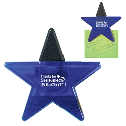 Thanks for Shining Bright! Star Shape Clip Star Shape Clip, Star, Shape, Clip, Staff, Customer Service, Shines, Youre A Star, Shining Star, Imprinted, Personalized, Promotional, with name on it, giveaway,