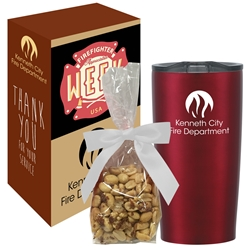 Himalayan Tumbler with Treat Stuffer & Custom Gift Box | Care Promotions