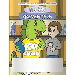 The Poison Prevention Dinosaur Coloring Book The Poison Prevention Dinosaur Coloring Book, BetterLifeLine, BetterLife, Education, Educational, information, Informational, Wellness, Guide, Brochure, Paper, Low-cost, Low-Price, Cheap, Instruction, Instructional, Booklet, Small, Reference, Interactive, Learn, Learning, Read, Reading, Health, Well-Being, Living, Awareness, ColoringBook, ActivityBook, Activity, Crayon, Maze, Word, Search, Scramble, Entertain, Educate, Activities, Schools, Lessons, Kid, Child, Children, Story, Storyline, Stories, Safe, Safety, Protect, Protection, Hurt, Accident, Violence, Injury, Danger, Hazard, Emergency, First Aid, Poisonous, Elementary,Imprinted, Personalized, Promotional, with name on it, Giveaway,