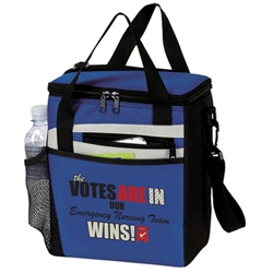 The Votes Are In...Our Emergency Nursing Team Wins! 12 Pack Lunch Cooler   Emergency Nurses theme, Can Cooler, 12 pack cooler, 12 pack lunch bag, 12 pack lunch cooler, cooler, lunch bag, 12 pack lunch bag, Imprinted, With Logo, With Name On It