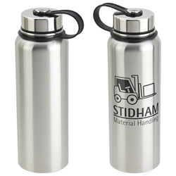 Thirst-Be-Gone 32 oz Insulated Stainless Steel Bottle 32 oz Stainless Steel Bottle, Stainless Steel Mug, Stainless Tumblers, imprinted, with logo, personalized,Care Promotions,