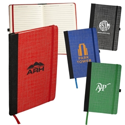 Tonal Non-Woven Journal | Care Promotions