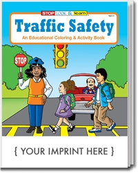 Traffic Safety Coloring & Activity Book | Care Promotions