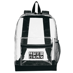 Custom Transparent Backpack | Care Promotions
