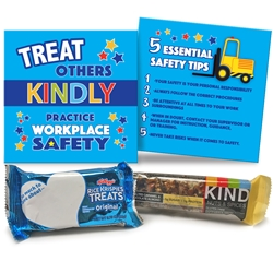 Treat Others Kindly, Practice Workplace Safety Treat Set | Care Promotions