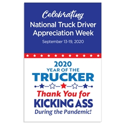 "Truck Driver Appreciation Week Posters Theme 11 x 17"" Posters (Sold in Packs of 10)   Truck Driver, Week, Trucker Driver Appreciation Week Posters, Appreciation, Theme, Posters, Poster, Celebration Poster, Appreciation Day, Recognition Theme Poster,"
