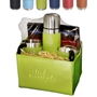 Tuscany™ Thermos, Cups, & Ghirardelli® Cocoa Set corporate holiday gifts, business gifts, employee appreciation gifts, promotional drinkware, cocoa gift sets