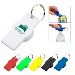 Twist-Top Bottle And Can Opener Twist-Top Bottle And Can Opener, Twist-Top, Bottle, and, Can, Opener, Twist, Top, Split Ring, Key Tag, keytag, Key Ring, Imprinted, Personalized, Promotional, with name on it, Gift Idea, Giveaway,