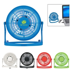 USB PLUG-IN FAN USB desk fan, desk fan, promotional fan, imprinted desk fan,