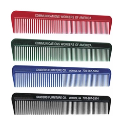 Unbreakable Comb Unbreakable Ad-Comb, Ad, Comb, Combs, Unbreakable, Imprinted, Personalized, Promotional, with name on it, giveaway