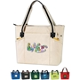 Urban Zip Tote All Purpose, Urban, Zip, Polyester, Promotional Events, Trade Show Bags, Health Fair, Imprinted, Tote, Reusable, Recognition, Travel