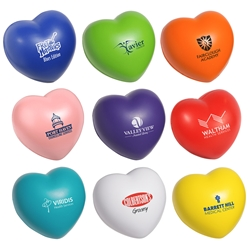 Valentine Heart Stress Reliever heart promotional items,heart health giveaways, promotional stress reliever, heart stress reliever, american heart month, heart health education, cardiology giveaways, employee wellness, valentine promotional items