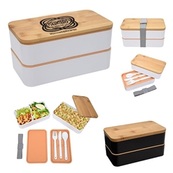 """Volunteers: Through and Through We Can Always Depend On You"" Stackable Bento Lunch Set   Volunteer theme, Volunteer Appreciation, Bento Lunch Container, Stackable, Lunch Dish, Lunch Plate, Lunch Set, Lunch Box, Imprinted, Personalized, Promotional, with name on it, Gift Idea, Giveaway, novelty pen, promotional pen, fidget spinner pen"