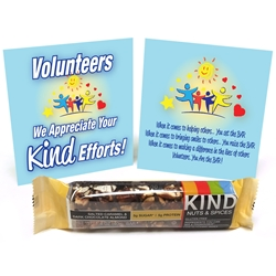 "Volunteers We Appreciate Your ""Kind"" Efforts Treat Set  Volunteer, Recognition, Appreciation, Treat, Giveaway, Set,"