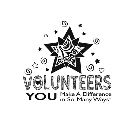 - Volunteers: You Make A Difference In So Many Ways #L71