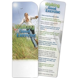 Walking for Good Exercise Bookmark Walking for Good Exercise Bookmark,BetterLifeLine, BetterLife, Education, Educational, information, Informational, Wellness, Guide, Brochure, Paper, Low-cost, Low-Price, Cheap, Instruction, Instructional, Booklet, Small, Reference, Interactive, Learn, Learning, Read, Reading, Health, Well-Being, Living, Awareness, Book, Mark, Tab, Marker, Bookmarker, Page holder, Placeholder, Place, Holder, Card, 2-side, 2-sided, Page, Exercise, Fitness, Nutrition, Sports, Workout, Gym, YMCA, Imprinted, Personalized, Promotional, with name on it, Giveaway,