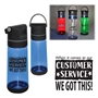 """When It Comes To Our Customer Service...WE GOT THIS!"" 21 oz Copolyester Plastic Wireless Speaker Bottle  Customer Service, Theme, Recognition, Appreciation, CSR, promotional wellness gifts, custom logo wireless speaker, custom fitness gifts, promotional water bottle, custom logo water bottle, employee appreciation gifts, business gifts, employee wellness giveaways, corporate gifts with your logo"