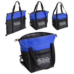 """When it Comes to Our Housekeeping...WE GOT THIS!"" Glacier Convertible Cooler Bag  Housekeeping, EVS, Housekeepers, Theme, Lunch Cooler, Nurses Lunch Cooler Tote, Convertible Cooler, Imprinted, With Logo, promotional products,"