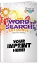Word Search Challenge Puzzle Book word search puzzles, word search puzzle book, promotional games, promotional puzzles, senior's promotions