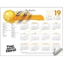 Workplace Safety First Adhesive Wall Calendar accident prevention, safety awareness, workplace safety, national safety month, safety reminder, safety incentive, safety promotional items