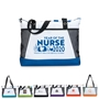 """Year of the Nurse 2020...Whatever It Takes Is The Difference You Make"" Venture Business Tote  Nurses Appreciation Theme Tote, Nurses Theme Bag, Nurses tote with Water Bottle Holder, Pocket, Basic, Low Price, Promotional, Imprinted, with name on it, logo, custom bag"