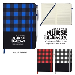 """Year of the Nurse 2020...Whatever it Takes Is The Difference You Make"" Northwoods Journal Nurses, appreciation, theme, Nurses Week, Journal Giveaway, promotional Journals, custom logo Journal,, customer service week Journal, promotional desk accessories, business journal gifts, corporate holiday journal, employee appreciation gifts"