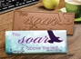 """You Soar Above the Rest"" Chocolate Bar Employee Appreciation, Employee Recognition, Holiday Gifts, Business Gifts, Corporate Gifts, Holiday Parties, chocolate, Appreciation Gifts"