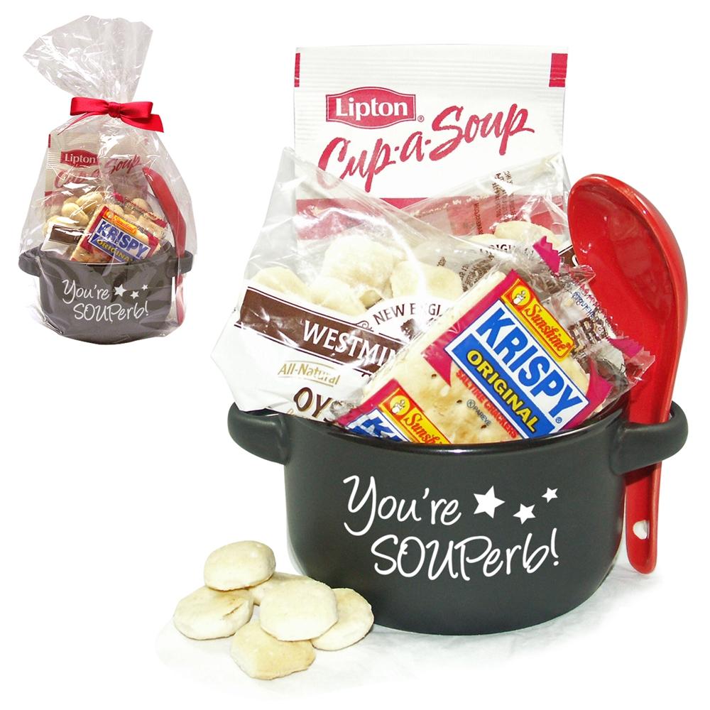 """You're SOUPerb!"" Soup Mug & Spoon Gift Set"