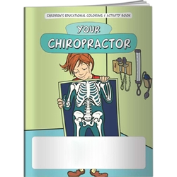 Your Chiropractor Coloring Book Your Chiropractor Coloring Book, BetterLifeLine, BetterLife, Education, Educational, information, Informational, Wellness, Guide, Brochure, Paper, Low-cost, Low-Price, Cheap, Instruction, Instructional, Booklet, Small, Reference, Interactive, Learn, Learning, Read, Reading, Health, Well-Being, Living, Awareness, ColoringBook, ActivityBook, Activity, Crayon, Maze, Word, Search, Scramble, Entertain, Educate, Activities, Schools, Lessons, Kid, Child, Children, Story, Storyline, Stories, Skeleton, Bones, X-ray, Chiropractor, Torso, Spine, Skeletal, Periosteum, Compact, Cancellous, Marrow, Cartilage, Vertebrae, Ribs, Tibia, Fibula, Joints, Humerus, Femur, Pelvis, Ulna, Temporal, Socket, Sternum, Disk, Skull, Imprinted, Personalized, Promotional,