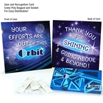 """Your Efforts Are Out Of This ORBIT"" Gum & Card Employee Appreciation Kit"